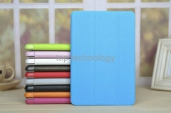 smart leather case for i