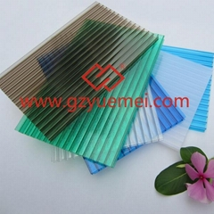 PC twin-wall polycarbonate hollow sheet