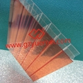 hollow polycarbonate panel for roofing