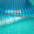 uv coating hollow pc sheets (lexan polycarbonate 4mm 6mm 8mm 10mm) 1