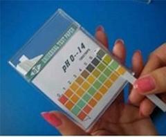 四色条装 PH0-14广范试纸