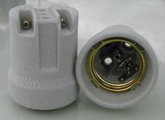 F519 E27 瓷燈座