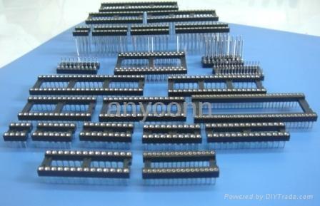 圆孔IC插座系列连接器接插件 1