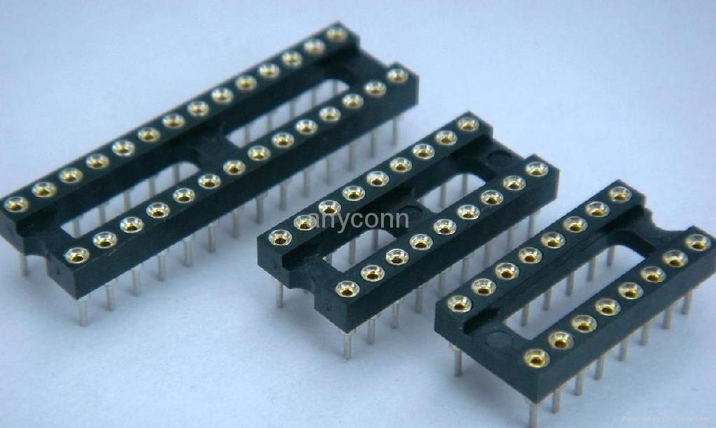 圆孔IC插座系列连接器接插件 2
