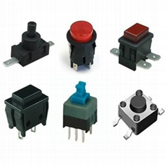 Plastic Push button switch