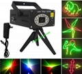 7 colors animate mini laser stage lighting DJ party stage