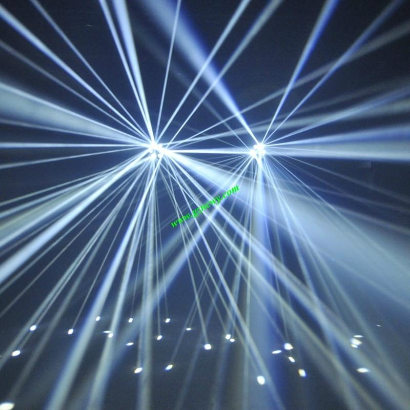 Laser effect light stage lighting for disco dj club for Home lighting effects