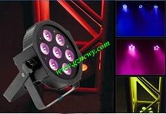 7pcs*10W 4in1 led par can quad par light for event,dj & disco