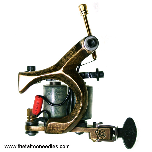 【 Name】: Cast iron Tattoo Machine Guns for liner and shader TA47