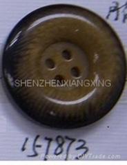 定型花樹脂紐扣