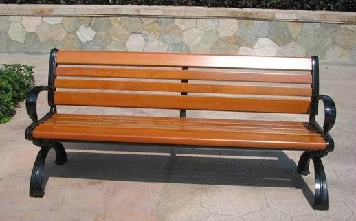 Wooden Outdoor Park Bench Sx Wpb01 Sheng Xing China