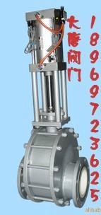 Z644TC气动陶瓷出料阀  2