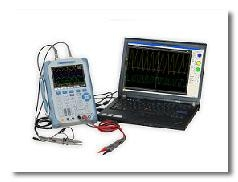 DSO1000B Series Handheld Oscilloscope/Multimeter
