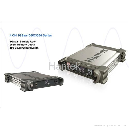 PC Based Oscilloscope DSO3000 Series (1GSa/s) - Hantek