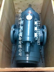 减速机齿轮箱润滑用QSN三螺杆泵