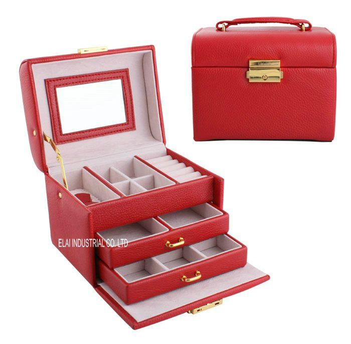 leather jewelry box LJE1210 OEM accepted China Products