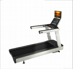 Made in China Good quality gym use 6 HP commercial treadmill 580/482 TV