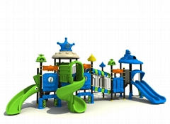 outdoor kid's play castle