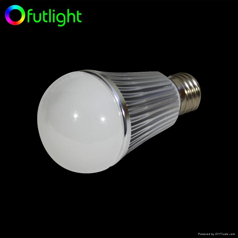 Dimmable RGB LED Bulb With RF Wireless Remote Control 3