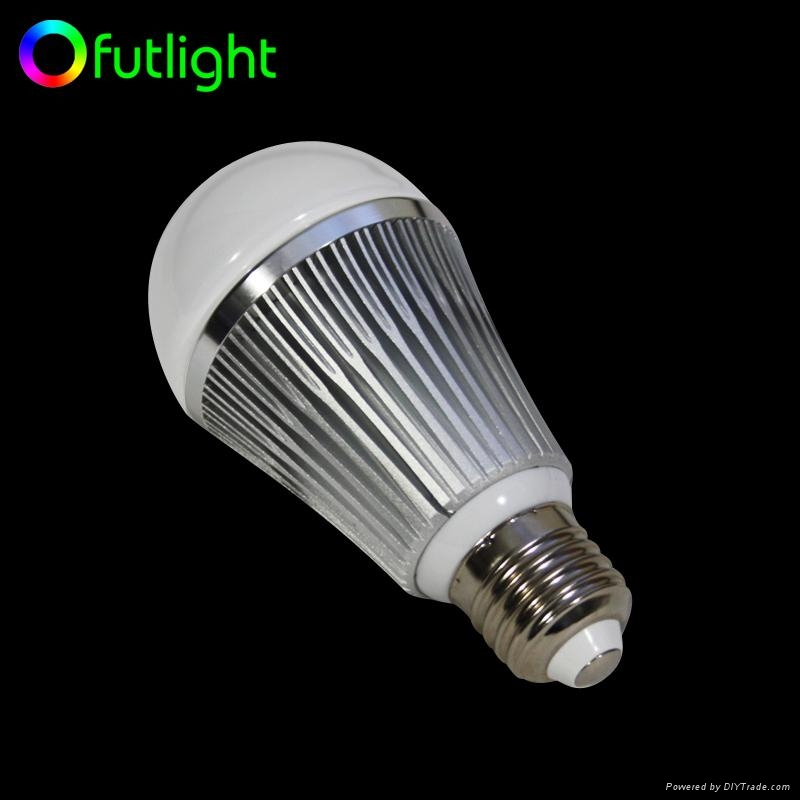 Dimmable RGB LED Bulb With RF Wireless Remote Control 4