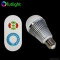 LED Brightness Changing Bulb with RF