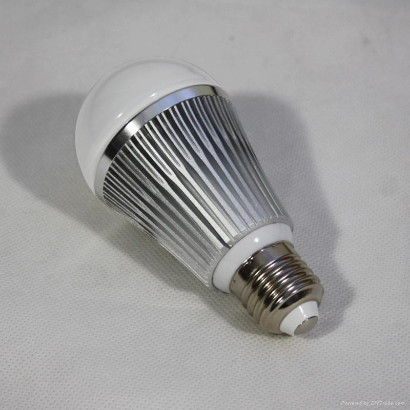 LED Brightness Changing Bulb with RF Wireless  Remote Control 5
