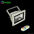 18W RGB LED Wall washer light with RF Wireless Touching RGB LED controller 1
