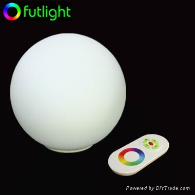 5W LED Mood Ball with RF Wireless Remote Control 1