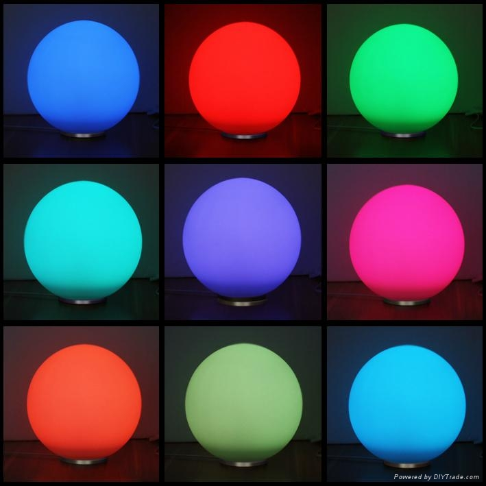 5W LED Mood Ball with RF Wireless Remote Control 2