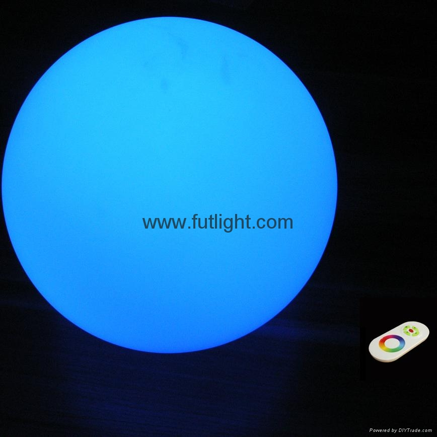 5W LED Mood Ball with RF Wireless Remote Control 5