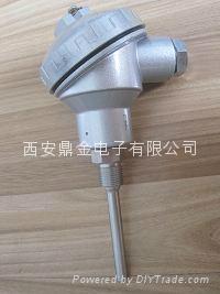 导轨型温度变送器4-20mA 2