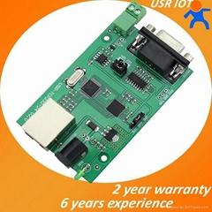 RS232 RS485 串口轉以太網模塊