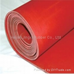 high strength silicone rubber sheet 5mm thickness
