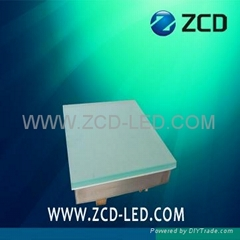 500X500  led tile lamp RGB color