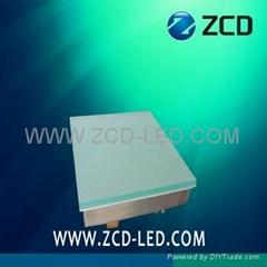 500X500  led tile lamp RGB color