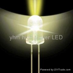 5mm  暖白LED