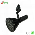 LED 9*3W track light 2