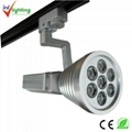 LED 9*3W track light 5