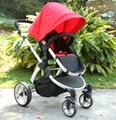 Baby stroller with EN1888
