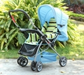 308 baby stroller with food tray and