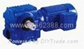 S series worm helical gearbox