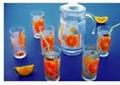 glass pot set