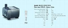 工藝品水泵HB-331