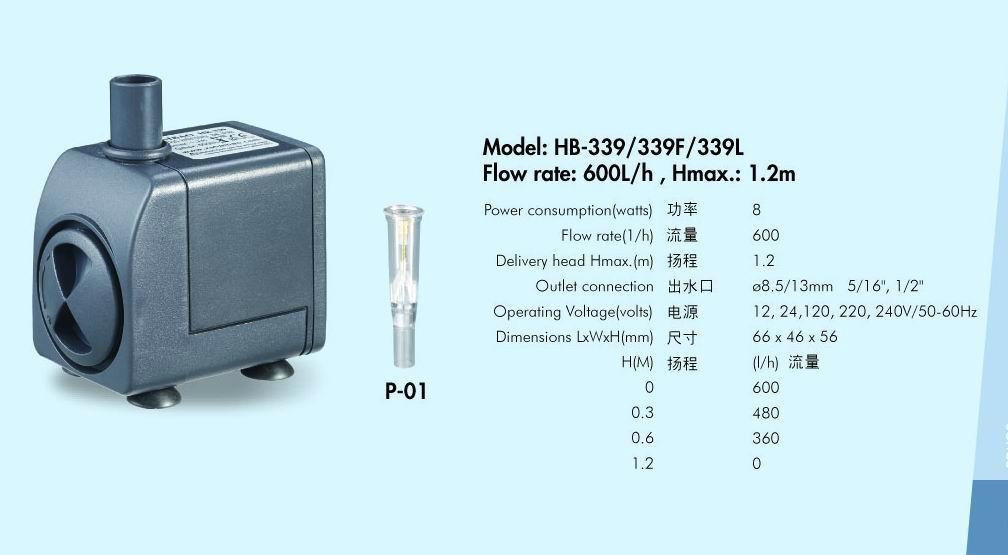 工艺品水泵HB-339 1