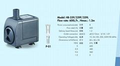工藝品水泵HB-339