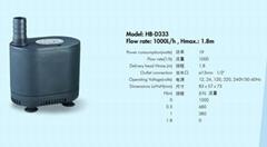 多功能潜水泵HB-D333