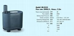多功能潜水泵HB-D555