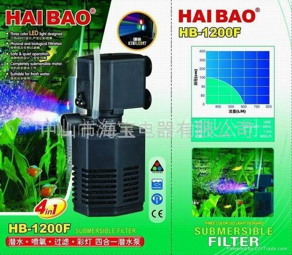 多功能鱼缸潜水泵(过滤筒泵) 2