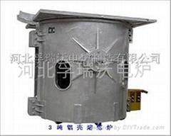中频感应熔炼炉