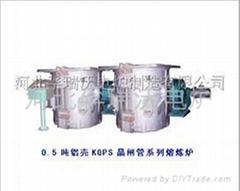 1.5吨铝壳熔炼炉电容器柜组